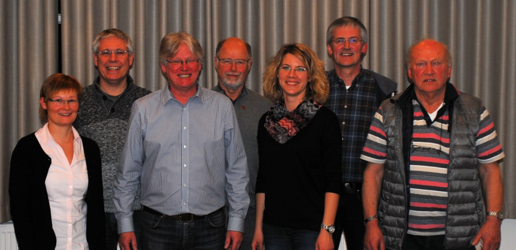 Der geschäftsführende Vorstand 2017