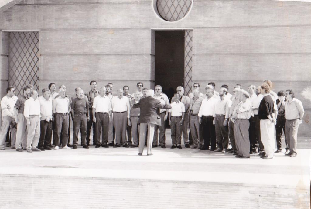 """20.10.1992 Freilichtbühne """"America"""" Palos de la Frontera, Spanien"""